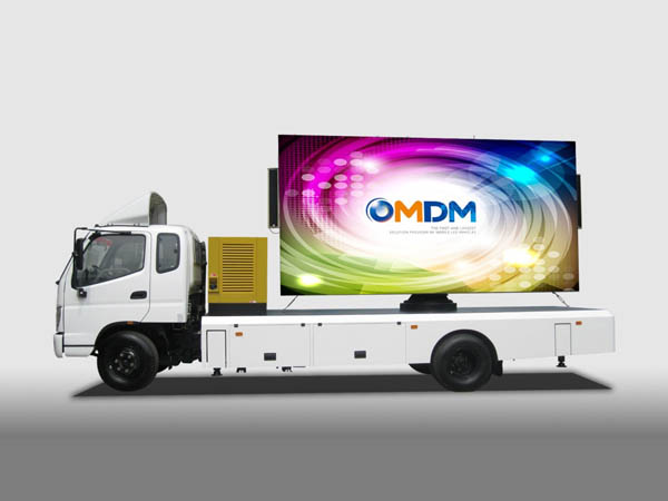 OUTDOOR ADVERTISING MOBILE LED TRUCK ER360